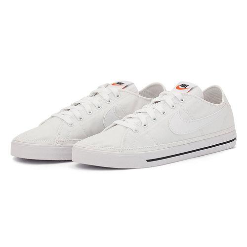 Nike Court Legacy Canvas - Αθλητικά - WHITE/WHITE