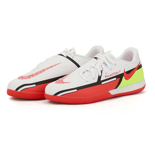 Nike Jr. Phantom GT2 Academy - Αθλητικά - WHITE/BRIGHT CRIMSON-VOLT