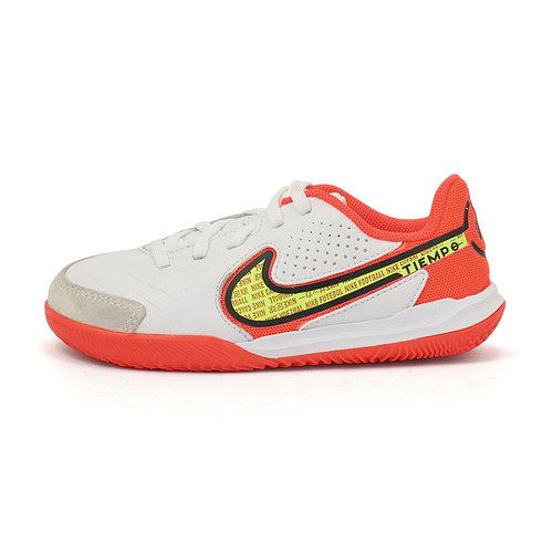 Nike Jr. Tiempo Legend 9 - Αθλητικά - WHITE/VOLT-BRIGHT CRIMSON
