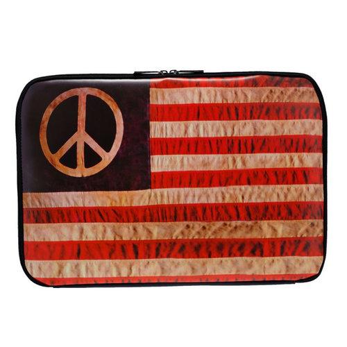 Kothai Laptop Hippy Flag 15'' - Τσάντες - ΜΑΥΡΟ