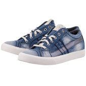 Diesel D-String Low - Sneakers - ΜΠΛΕ/ΤΖΙΝ