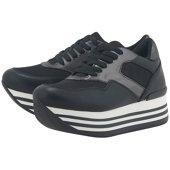 Exe - Sneakers - ΜΑΥΡΟ