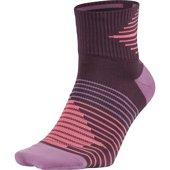 Nike Dri-FIT Lightweight No-Show Running Sock - Κάλτσες - ΜΩΒ/ΡΟΖ