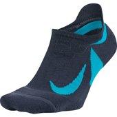Nike Dry Elite Cushioned No-Show Running - Αθλητικές - ΜΠΛΕ ΣΚΟΥΡΟ