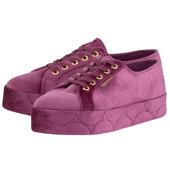 Superga Velvet Chenille W Fcovered - Low Cut - ΡΟΖ