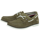 Tommy Hilfiger Classic Suede Boatshoe - Με κορδόνι - ΛΑΔΙ