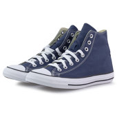 Converse Chuck Taylor All Star - Mid Cut - ΜΠΛΕ ΣΚΟΥΡΟ