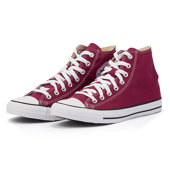Converse Chuck Taylor All Star Seasonal - Mid Cut - ΜΠΟΡΝΤΩ