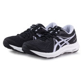 Asics Gel-Contend 7 - Running - ΜΑΥΡΟ/ΛΙΛΑ