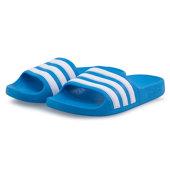 adidas Adilette Aqua K - Σαγιονάρες - SOLAR BLUE/FTWR WHITE
