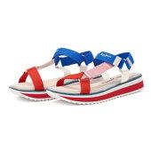 Pepe Jeans Alexa Trek - Flatforms - RED