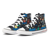 Converse Chuck Taylor Gamer - Sneakers - BLACK/BRIGHT POPPY