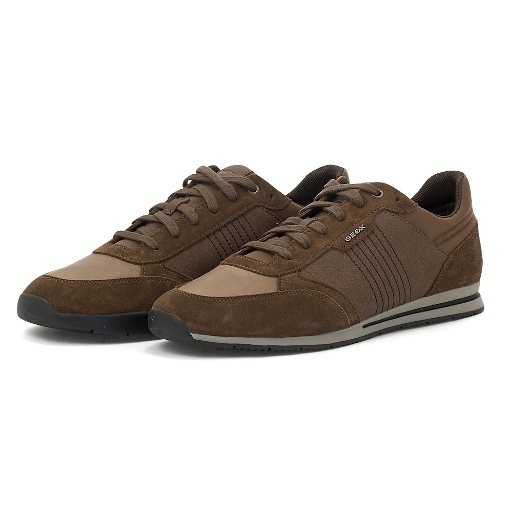 Geox U Edizione A - Sneakers - BROWN COTTO